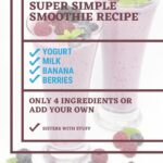 Super Simple Smoothie Recipe