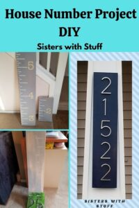 House number DIY Project
