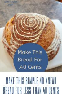Make this beautiful design on your homemade bread