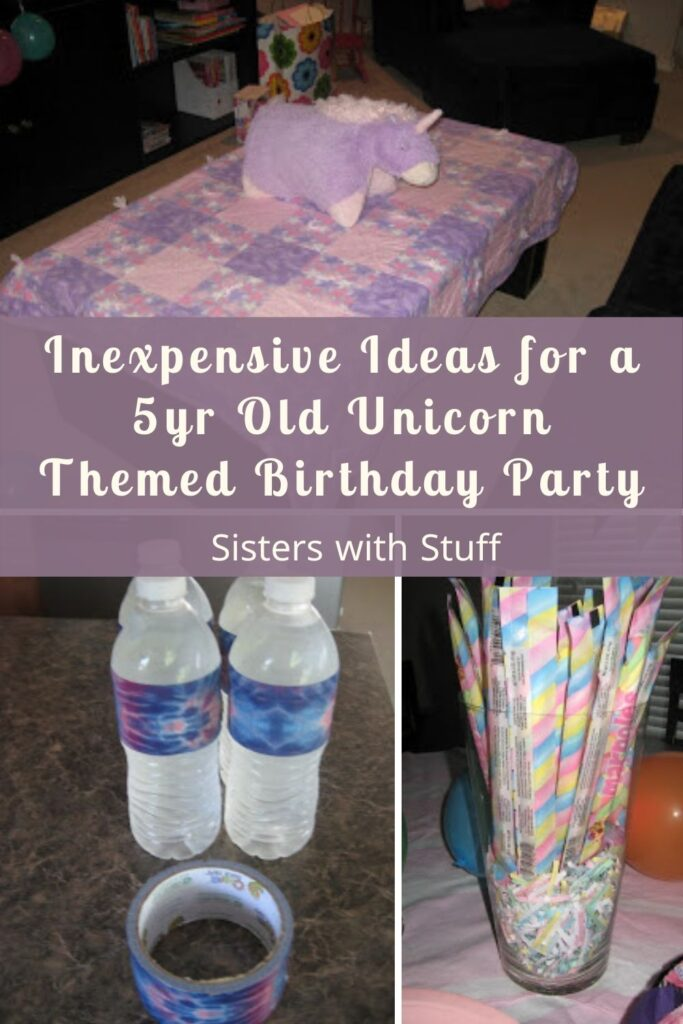 Inexpensive Ideas for a 5yr Old Unicorn Themed Birthday Party