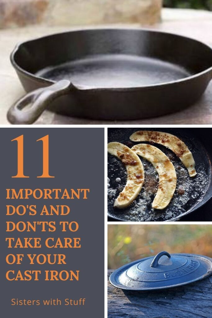 11 Important do's and don'ts to take care of your cast iron