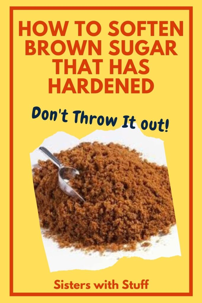 How to soften brown sugar that has hardened
