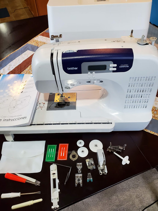 Review of the Brother CS600i Sewing and Quilting Machine