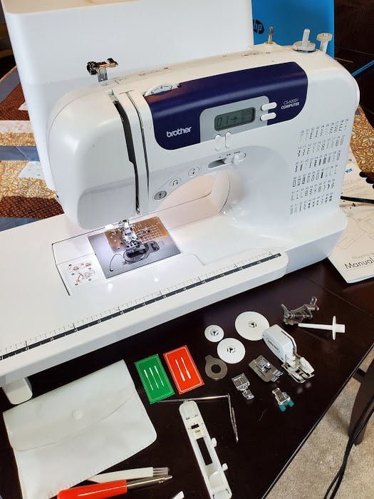 Review of the Brother CS6000i Sewing and Quilting Machine