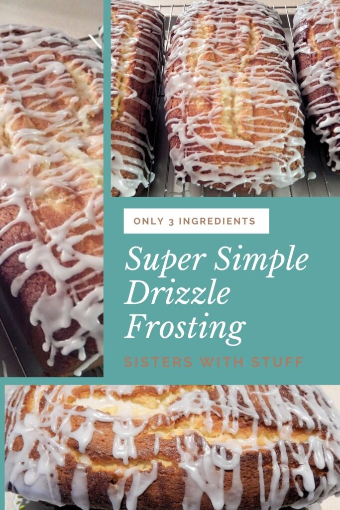 Super Simple Drizzle Frosting