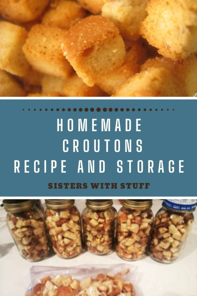Homemade Croutons Recipe and Storage