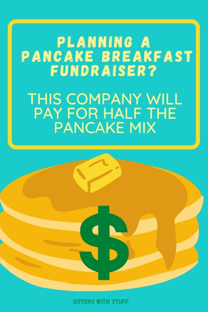 Having a Pancake Breakfast Fundraiser? Krusteaz will pay for half of your pancakes.
