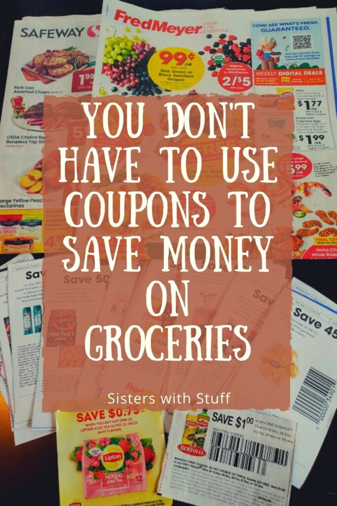 You don't have to use coupons to save money